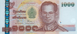 Thailand Bank Information 1000-baht-front